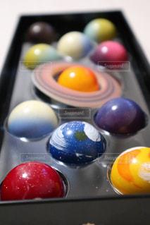 惑星チョコの写真・画像素材[1055957]