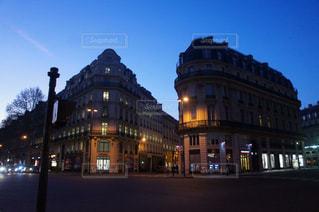 パリの早朝の写真・画像素材[1049571]