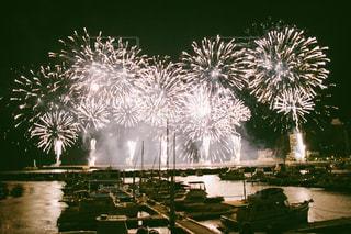 熱海海上花火大会の写真・画像素材[1075098]