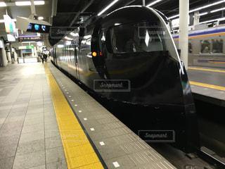南海電鉄なんば駅にてブラックラピートの写真・画像素材[1050008]