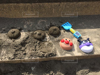 砂場遊びの写真・画像素材[1054219]