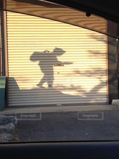 二宮さんの影の写真・画像素材[1060704]