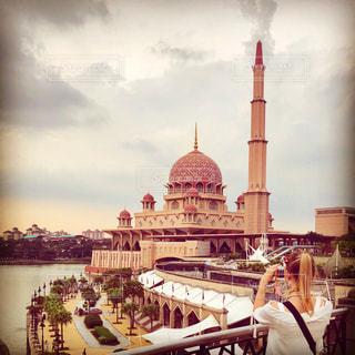 ピンクモスクの写真・画像素材[1061714]