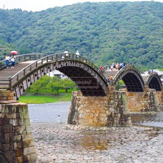 錦帯橋の写真・画像素材[1050795]