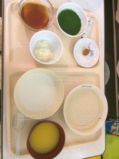 入院中の食事の写真・画像素材[1066331]