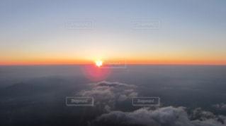 夜明け〜御来光の写真・画像素材[1050943]