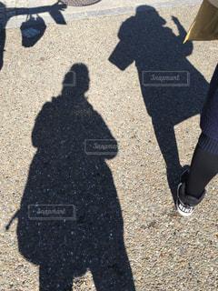 観光地での戯れの写真・画像素材[1051724]