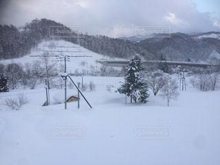 雪景色 スキー場 - No.1051602