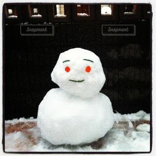 雪だるまさんの写真・画像素材[1052036]