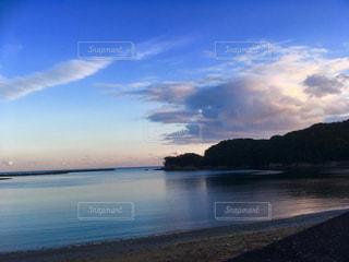 海辺の夕暮れの写真・画像素材[1052105]