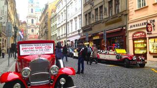 プラハの街並みの写真・画像素材[1053222]