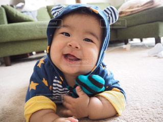ズリバイ赤ちゃんの写真・画像素材[1053632]