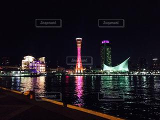 神戸の夜景の写真・画像素材[1056007]
