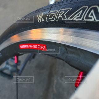 自転車のタイヤの写真・画像素材[1052431]