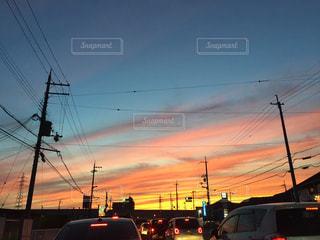 日本の夕暮れの写真・画像素材[1053299]