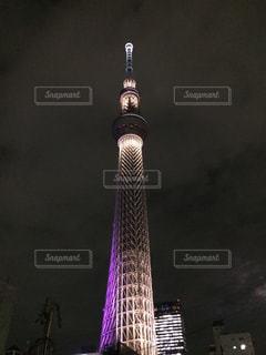 東京スカイツリーの夜 - No.1054315