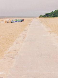 砂浜のビーチの写真・画像素材[1054481]