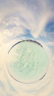 モルディブの海の写真・画像素材[1239688]
