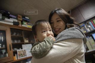 仲良し親子の写真・画像素材[2841094]