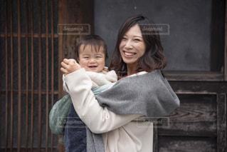 似ている親子の写真・画像素材[2841093]