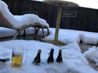 雪見酒の写真・画像素材[1054133]