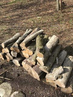 薪の写真・画像素材[1121265]