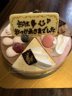 ケーキでお疲れ様♡の写真・画像素材[4032465]