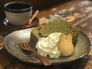 シフォンケーキの写真・画像素材[1055712]