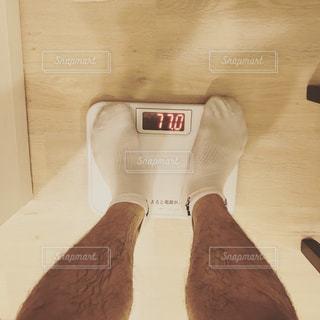 体重計にのってみたの写真・画像素材[1054521]