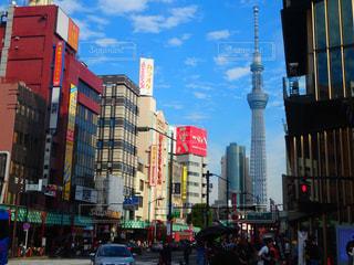東京スカイツリーの写真・画像素材[1055092]