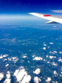 飛行機からの景色 - No.1058600