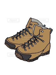 【イラスト】登山靴の写真・画像素材[2368319]