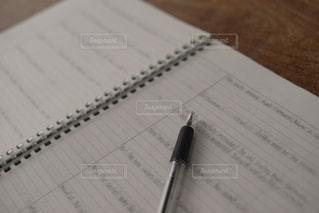 思い出のノートの写真・画像素材[1056866]