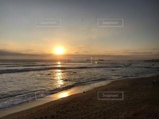犬吠埼から見た初日の出の写真・画像素材[1058023]