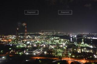 四日市の工場夜景ですの写真・画像素材[1058481]