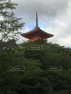 清水寺の塔の写真・画像素材[1057935]