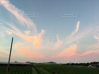 夕焼け空の写真・画像素材[1060267]