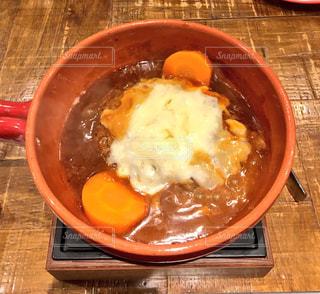 スープのボウルの写真・画像素材[1070145]