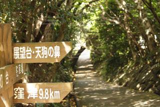 足摺岬公園 標識の写真・画像素材[1059361]