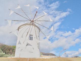風車の写真・画像素材[1069386]