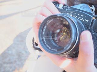 フィルムカメラの写真・画像素材[1069543]