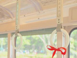 赤い糸の写真・画像素材[1507958]
