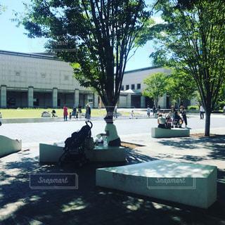 よく晴れた日の横浜美術館の写真・画像素材[1059512]