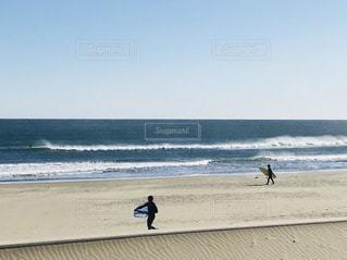 冬の九十九里浜の写真・画像素材[1059182]