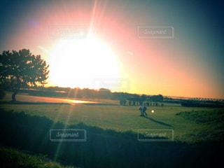 夕日の写真・画像素材[1059153]