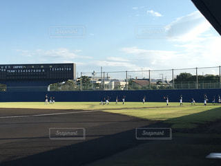 野球球場の写真・画像素材[1060356]
