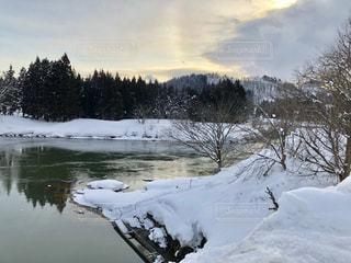 雪が包む景色の写真・画像素材[1059442]