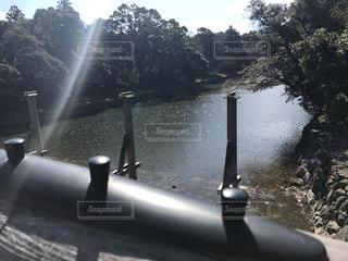 伊勢神宮の内宮の橋の写真・画像素材[1059687]