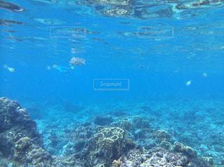 水の大きなプールの写真・画像素材[1066748]