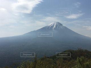 富士と樹海の写真・画像素材[1154716]